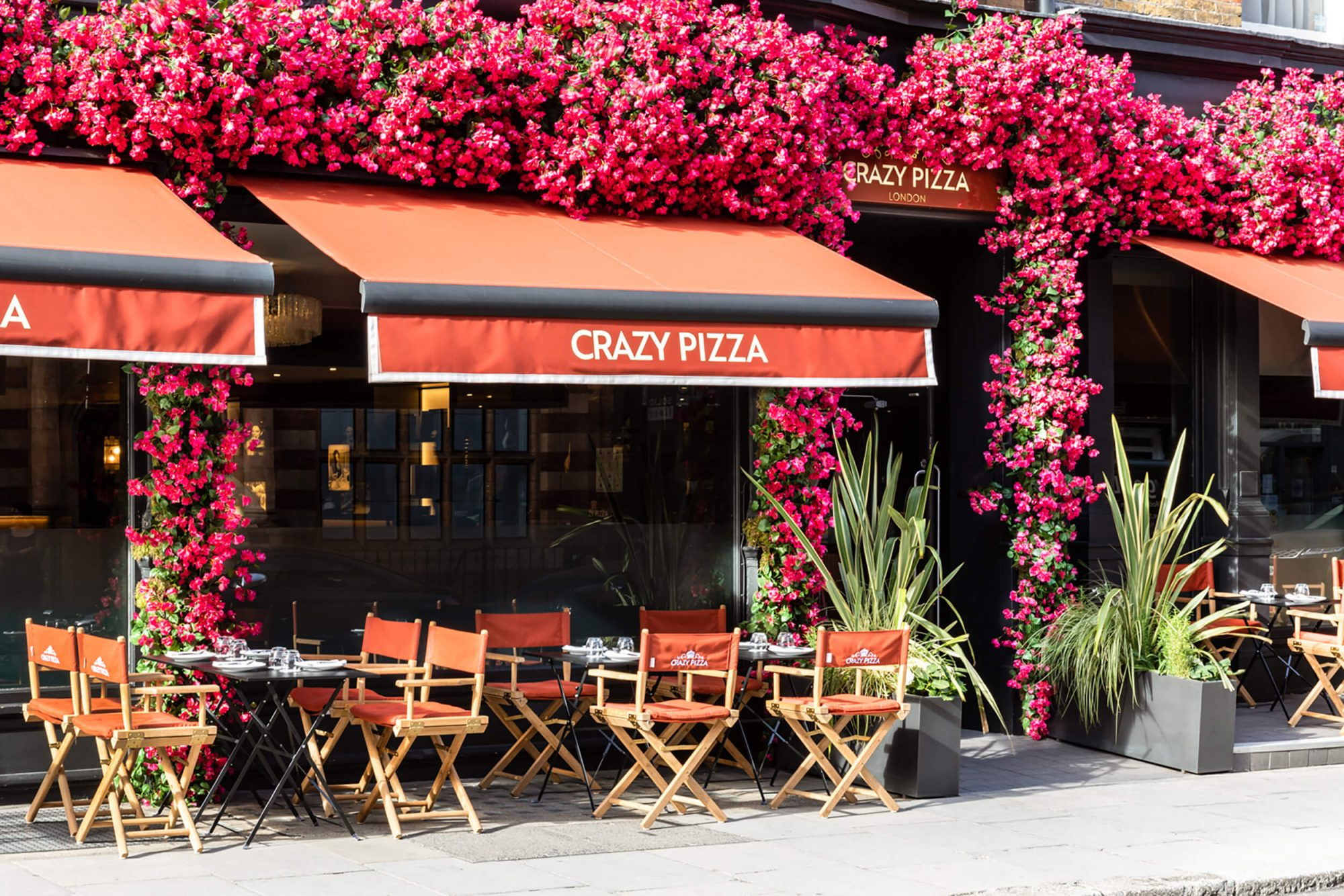 Crazy Pizza Marylebone.